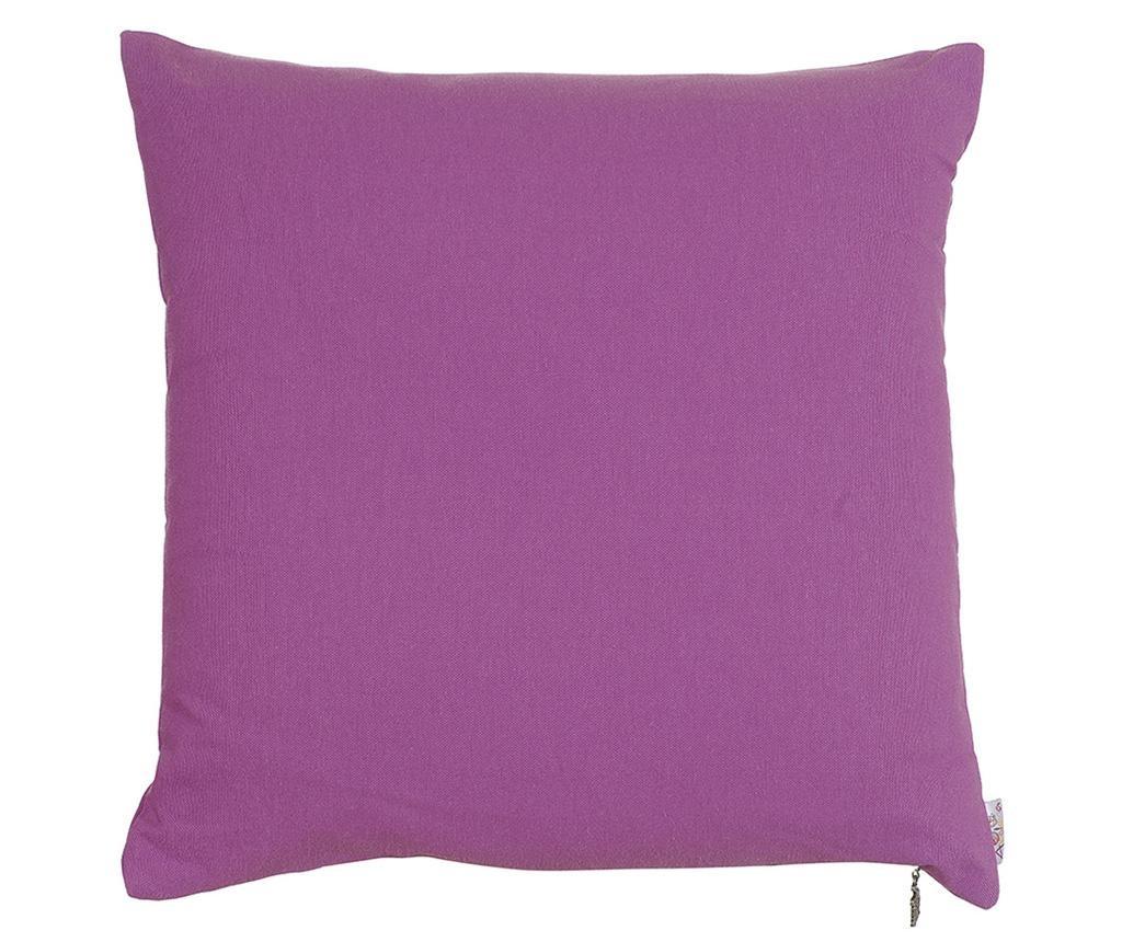 Fata de perna Thoughts Dark Purple 41x41 cm