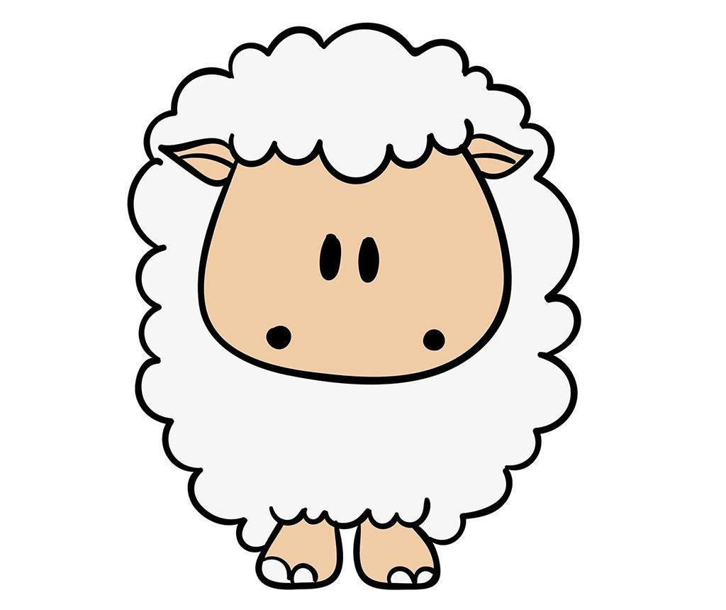 Funny Sheep Matrica