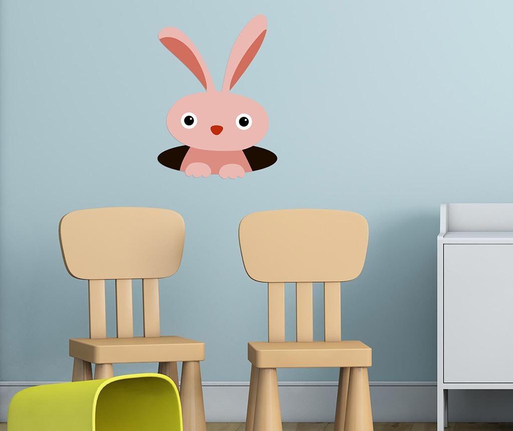 Sticker Bunny Hole