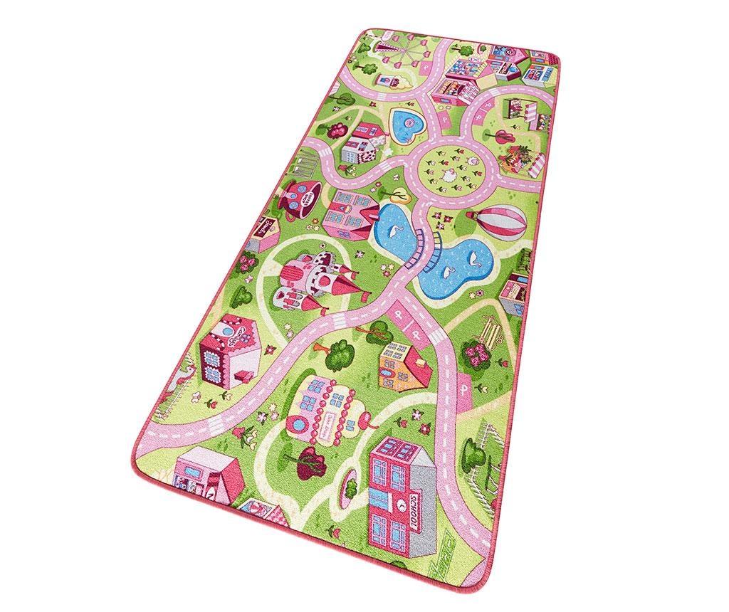 Igralna podloga Sweet Town Pink 160x240 cm