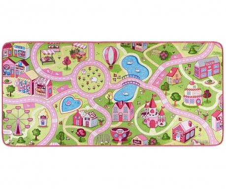 Covor de joaca Sweet Town Pink 140x200 cm