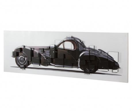 Golden Age Car 3D Effect Kép 50x150 cm