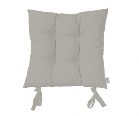 Polštář na sezení Plain Grey 37x37 cm