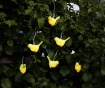 Ghirlanda luminoasa solara Birds Yellow