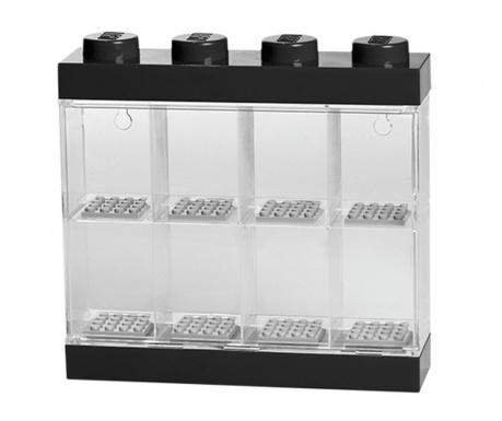 Kutija za  8 malih figurica Lego Few Black