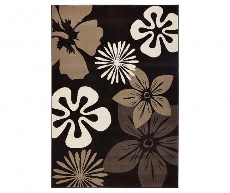 Preproga Flowers Brown