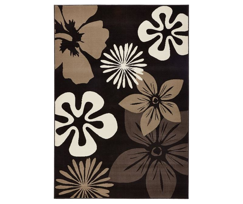 Covor Flowers Brown 200x290 cm