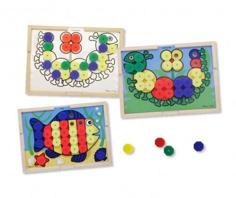 Igra mozaik Colors Animals