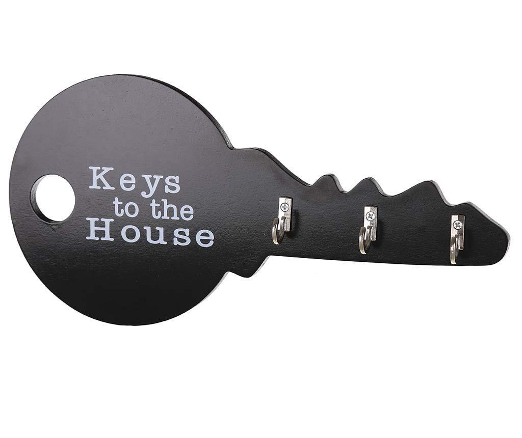 Držač za ključeve Order Black