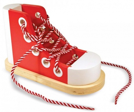 Zabawka  do nawlekania Shoe Tie