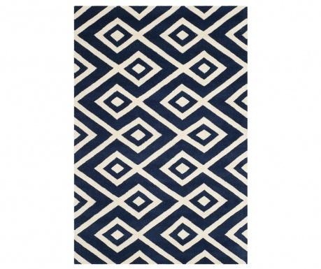 Dywan Sloane Dark Blue Ivory 121x182 cm