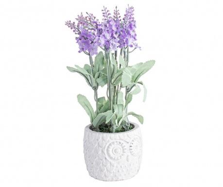 Umelá kvetina v kvetináči Owl Lilac