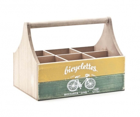 Škatla za steklenice Bycicletes