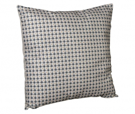 Perna decorativa Retro Dots Chic Grey 40x40 cm
