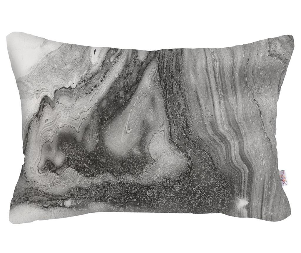 Fata de perna Abstract Dark Grey 31x50 cm