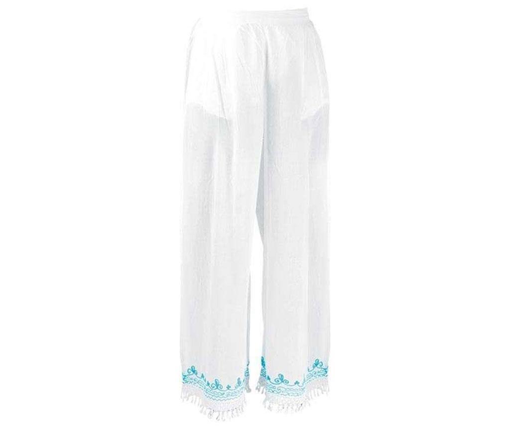 Pantaloni de plaja Long Turquoise M