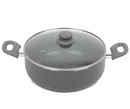 Audric Grey Lábas fedővel 5 L