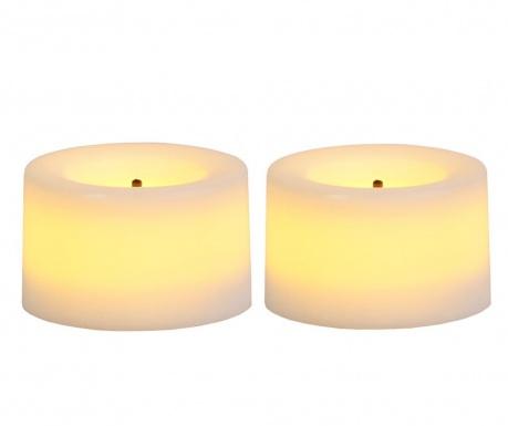 Комплект 2 свещи с LED Lasi