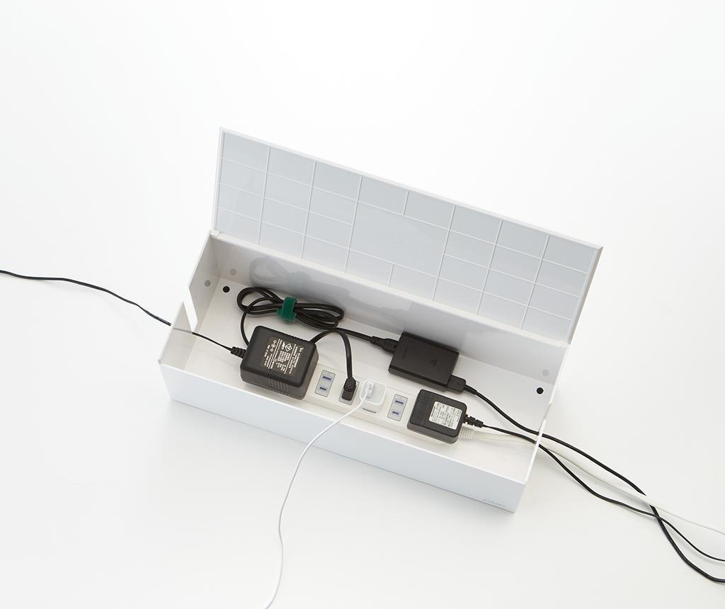 Obudowa na przedłużacz Web Cable White