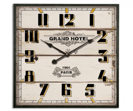Zidni sat Grand Hotel 1965 Paris