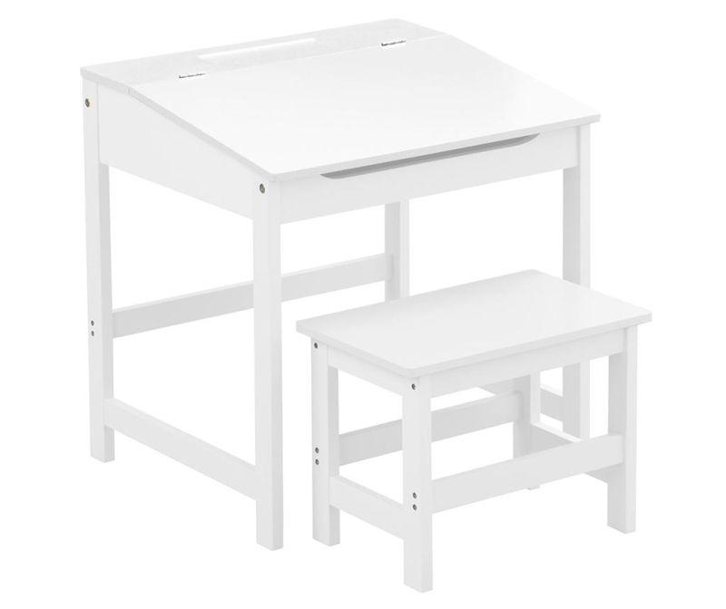 Set radni stol i stolica za djecu Julyan White