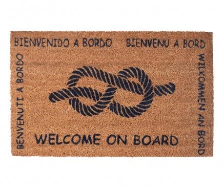 Welcome on Board Bejárati szőnyeg 40x70 cm