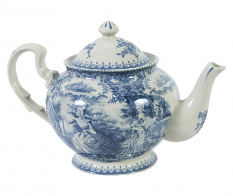 Teapot Palace Blue