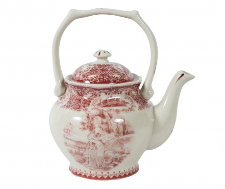 Teapot Hanger Palace Red