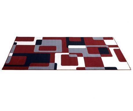 Килим Retro Red, Grey, Black