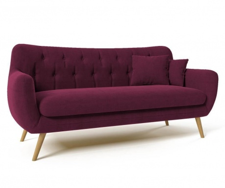Canapea 3 locuri Renne Violet