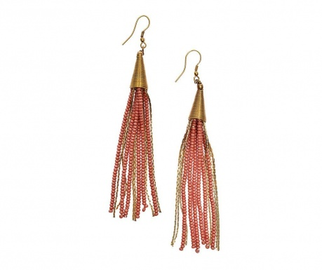 Earrings Pink Dust