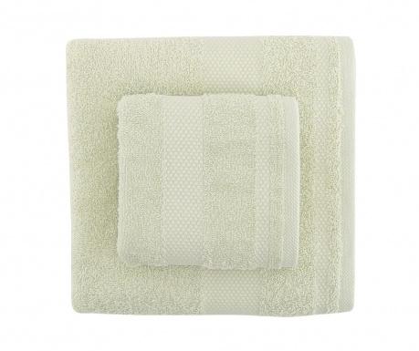 Zestaw 2 ręczników kąpielowych Tommy Light Green