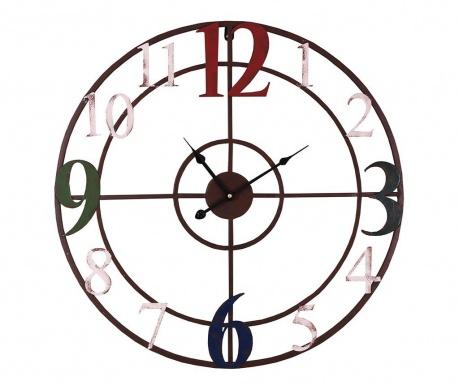 Nástěnné hodiny Skeleton