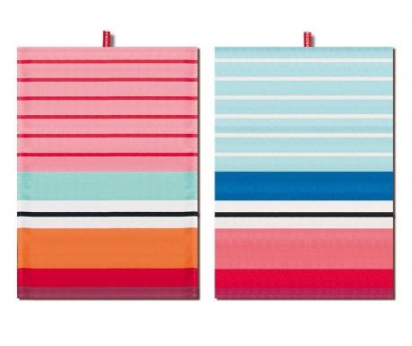 Set 2 prosoape de bucatarie Sweet Stripes 50x70 cm