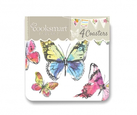 Set 4 coastere Butterflies