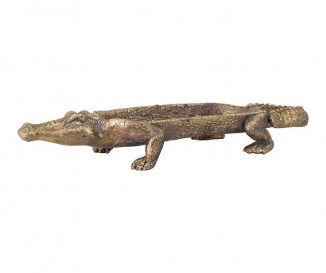 Platou decorativ Crocodile