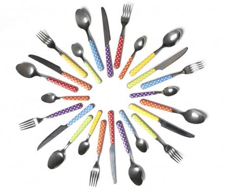 24-dijelni  pribor  za jelo Bolero Multicolor