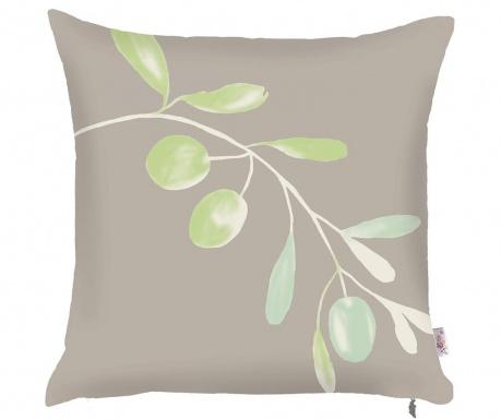 Poszewka na poduszkę Olive Branch Grey 43x43 cm