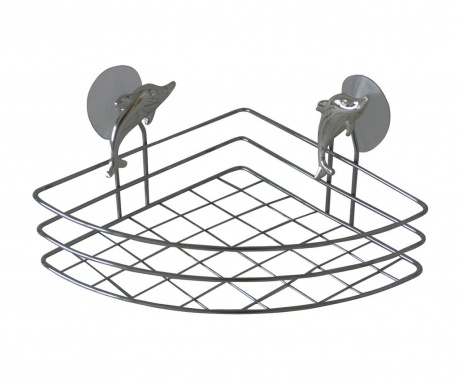 Držiak na kúpeľňové doplnky Corner Dolphin