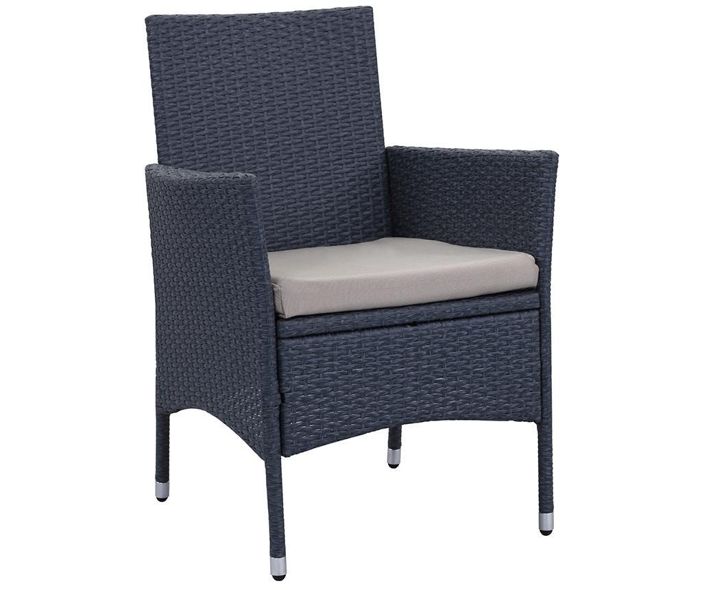 Set stol i 4  stolice za vanjski prostor Amalfi Grey