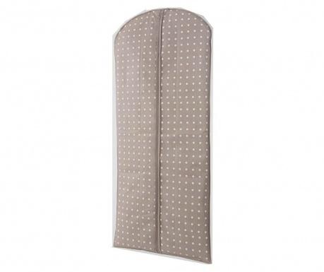 Spots Brown Tárolóhuzat ruháknak 60x137 cm