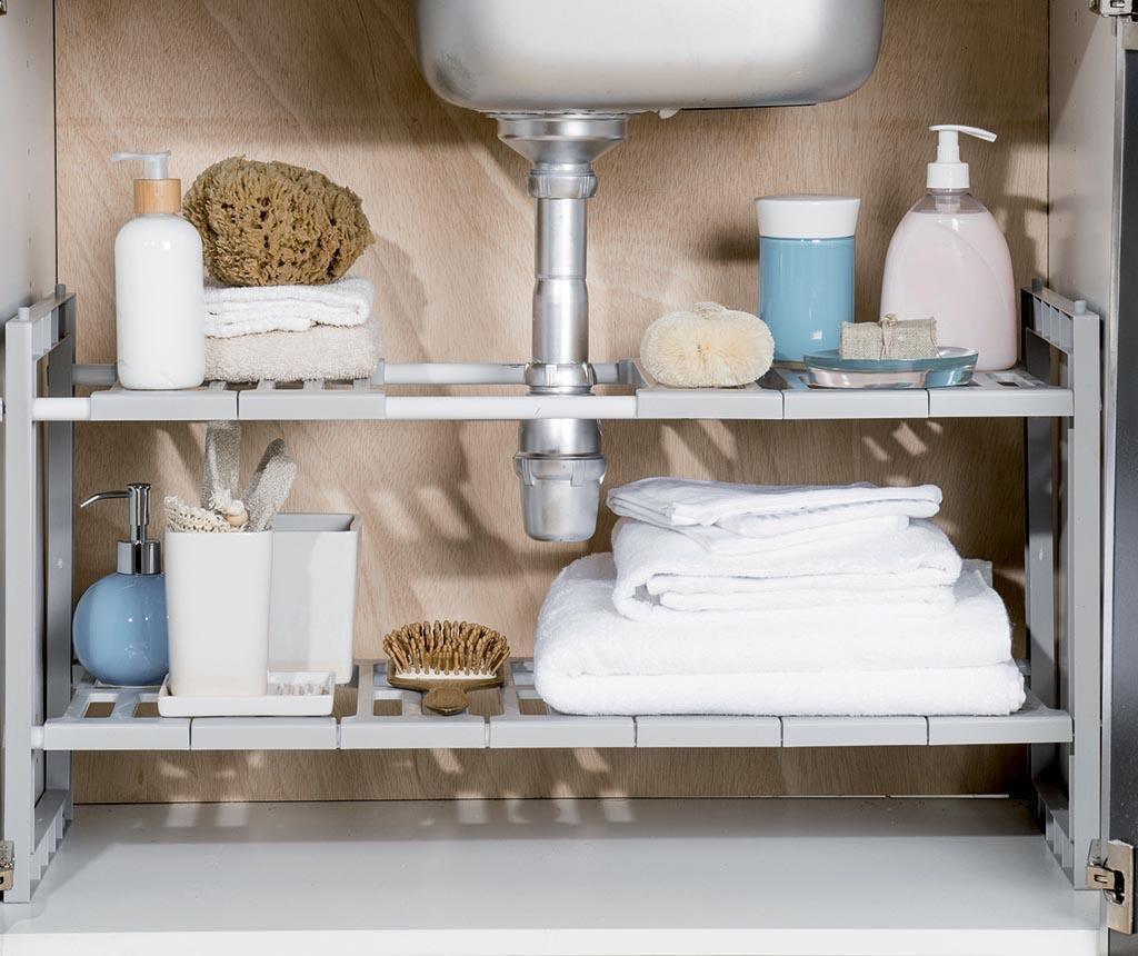 Under Sink Kihúzható fürdőszobai  polc
