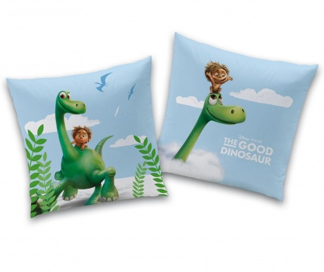 Perna decorativa Disney Good Dinosaur Arlo and Spot 40x40 cm