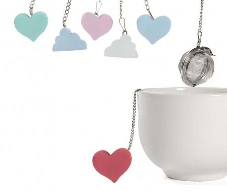 Set 6 infuzoare pentru ceai Love