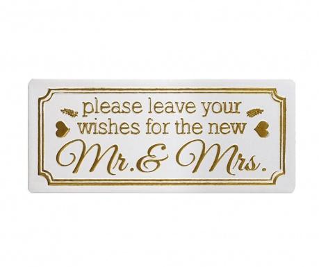Nástenná dekorácia Leave Your Wishes