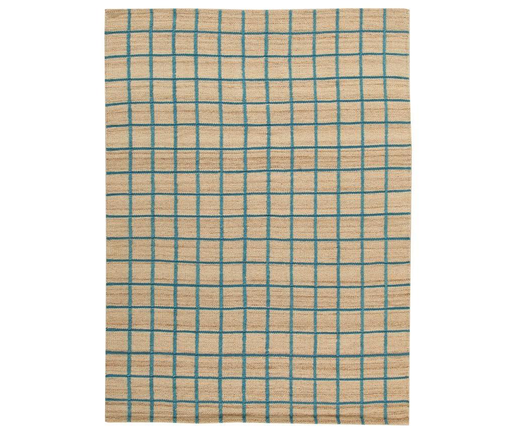 Tepih Kilim Box Blue 160x230 cm
