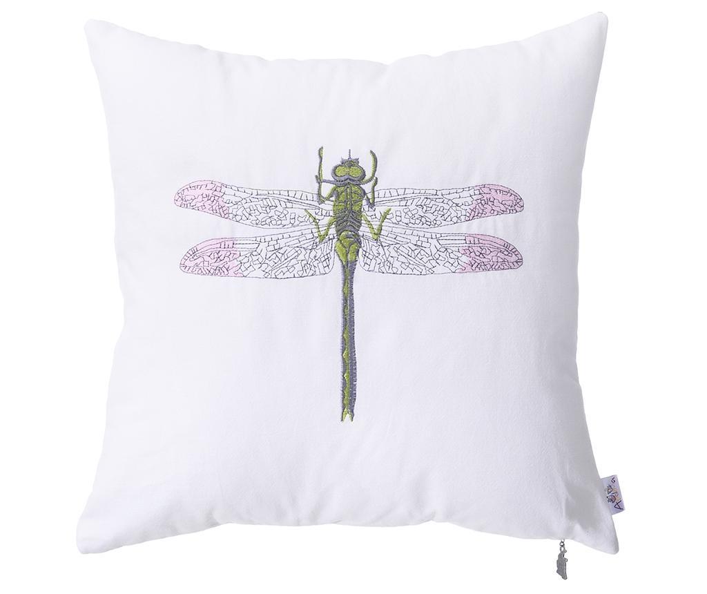 Fata de perna Dragonfly Pink 41x41 cm