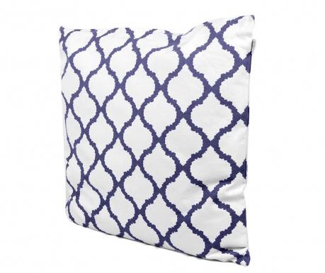 Dekorační polštář Amir White Blue