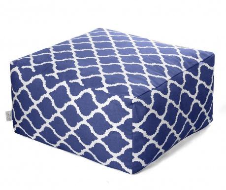 Sedací puf Soraya Blue 60x60 cm