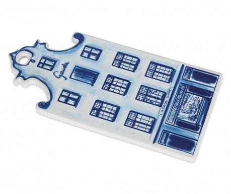 Pladanj za sir Delft Blue